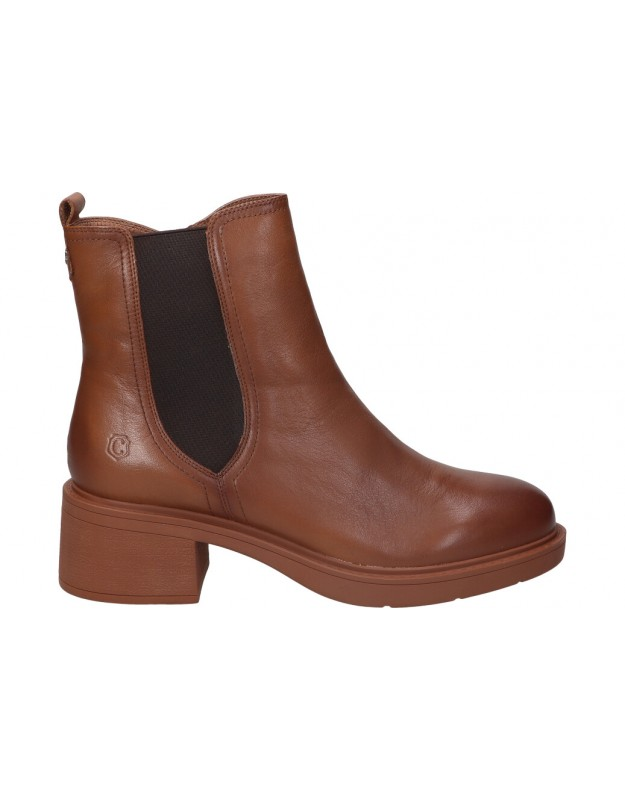 Carmela camel 68083 botines para moda joven