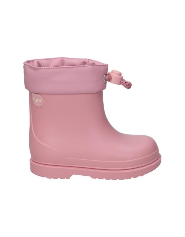Botas de agua igor bimbi mc rosa para niña