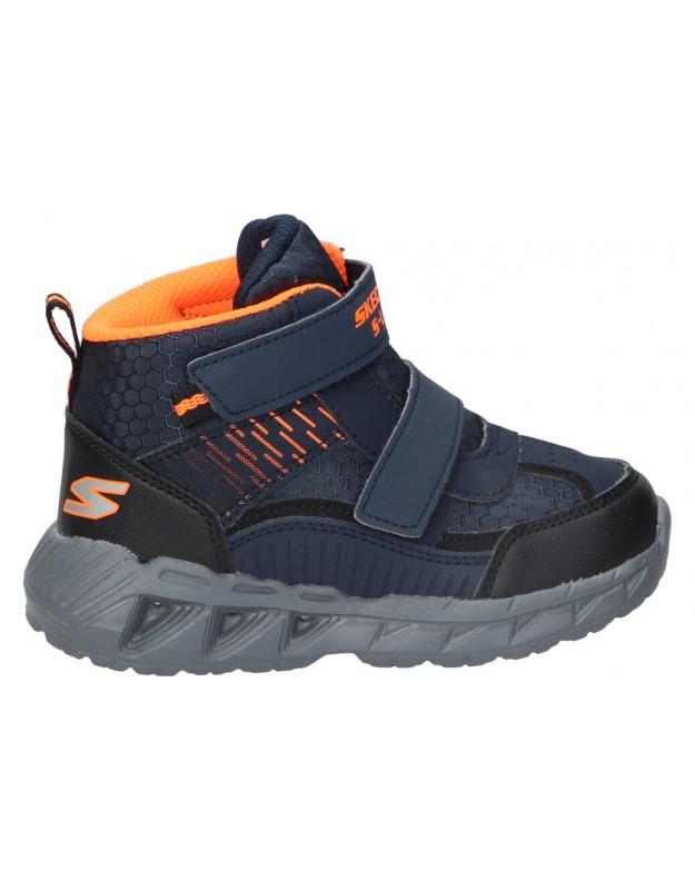 Botas color azul de casual SKECHERS 401504n-nvbk