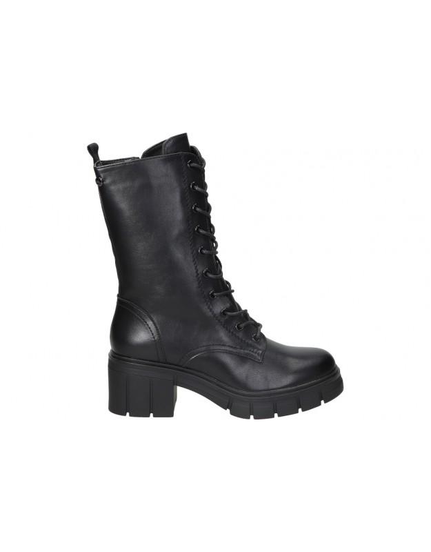 Botas casual de moda joven D ANGELA dsy20180 color negro