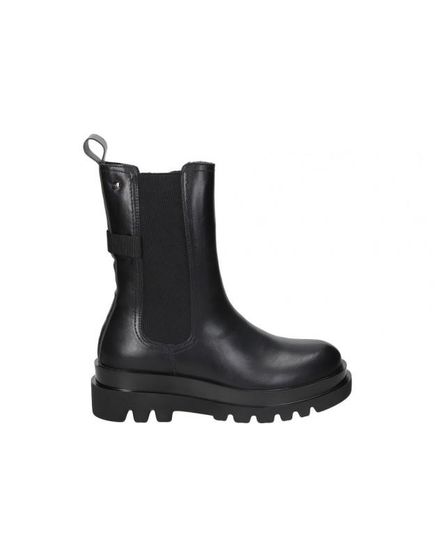 Botines para moda joven plataforma D ANGELA dsy20175 en negro