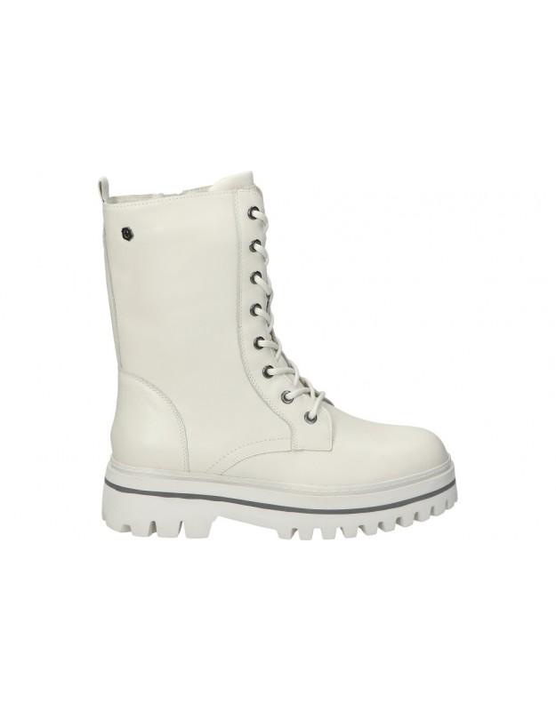 CARMELA blanco 68179 botines para moda joven