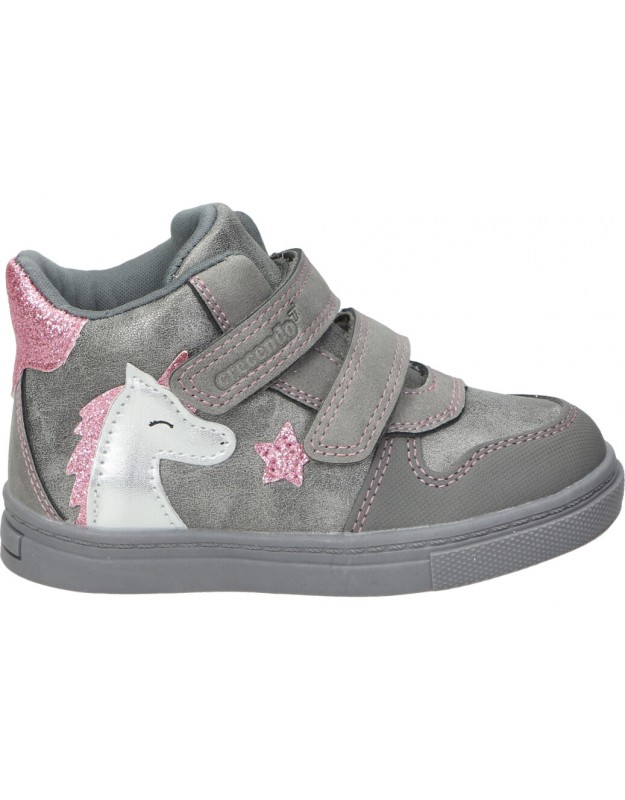 Zapatos casual de niña CRECENDO 2001 color gris
