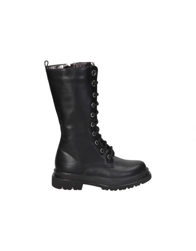 ASSO negro 12664 botas para niña
