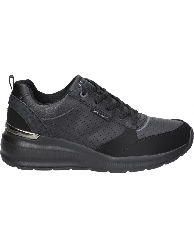 Zapatos SKECHERS 155616-bbk negro para señora