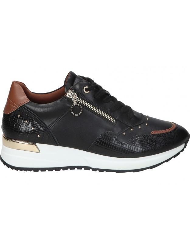 Zapatos color negro de casual CHK10 norma 01