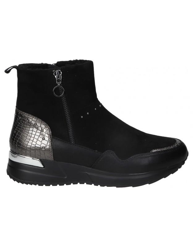Botines casual de moda joven CHK10 norma 03 color negro