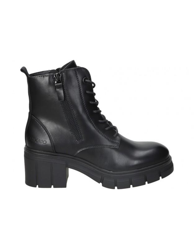 Botines CHK10 remus 01 negro para moda joven