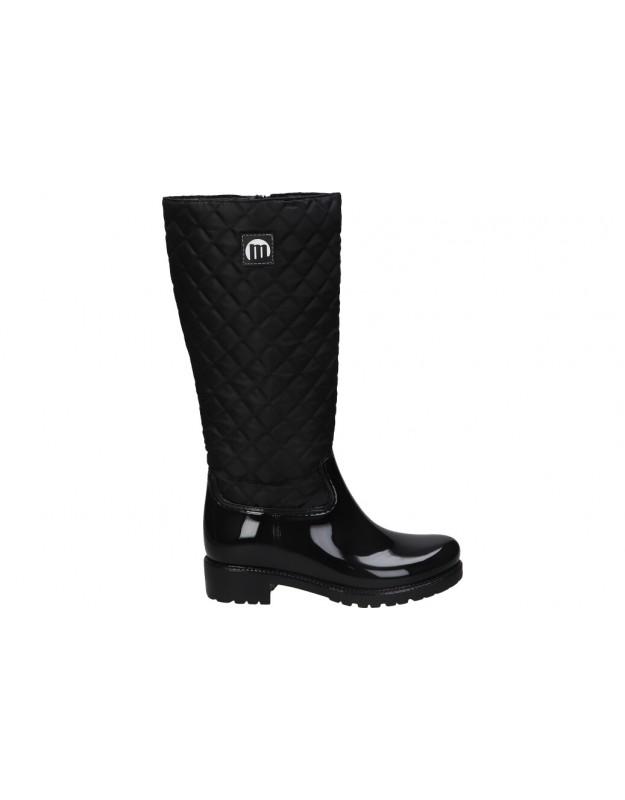 Botas de agua casual de señora MTNG 50198 color negro