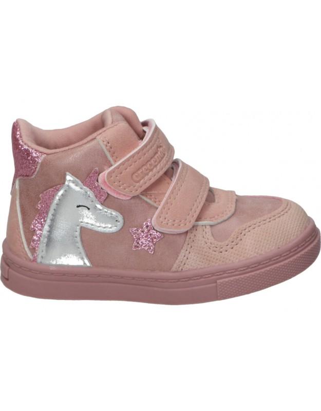 Zapatos para niña planos CRECENDO 2001 en rosa