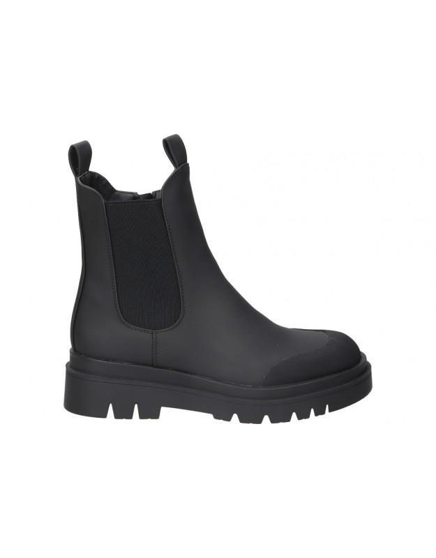 Botines casual de moda joven STAY 52-962 color negro