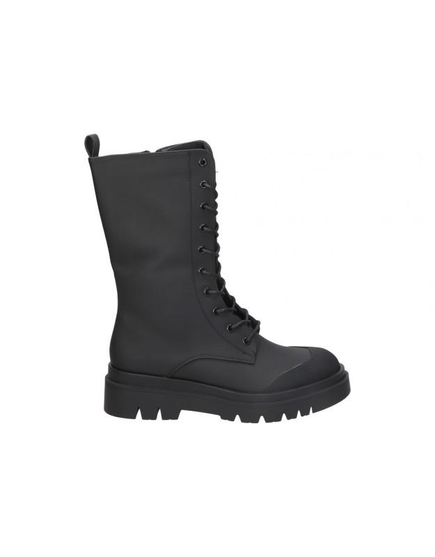 Botines para moda joven tacón STAY 52-963 en negro