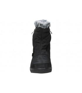 Sandalias para moda joven planos amarpies abz17066 en negro