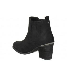 Sandalias casual de moda joven interbios 7119 color negro