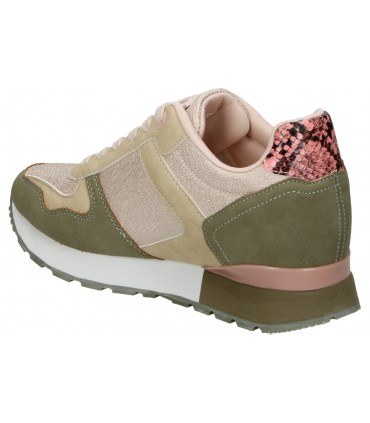Sandalias pink desert pdv18002 beige para señora